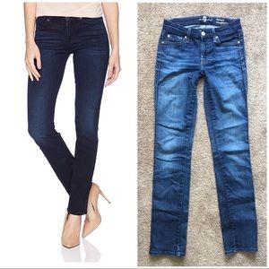 7FAM Kimmie Straight Leg Stretch Jeans 26